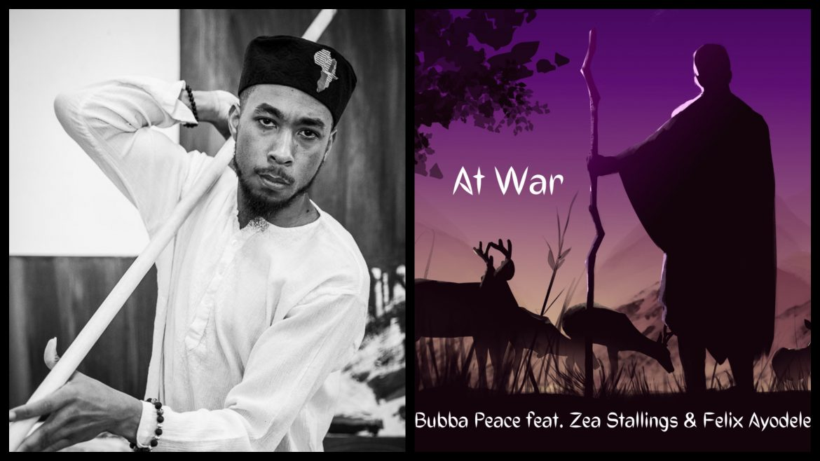 An acoustic hiphop vibe that screams Rocky Mountain Hippie, 'At War' explores how we all have mountains we need to climb in order to bring peace into our lives!